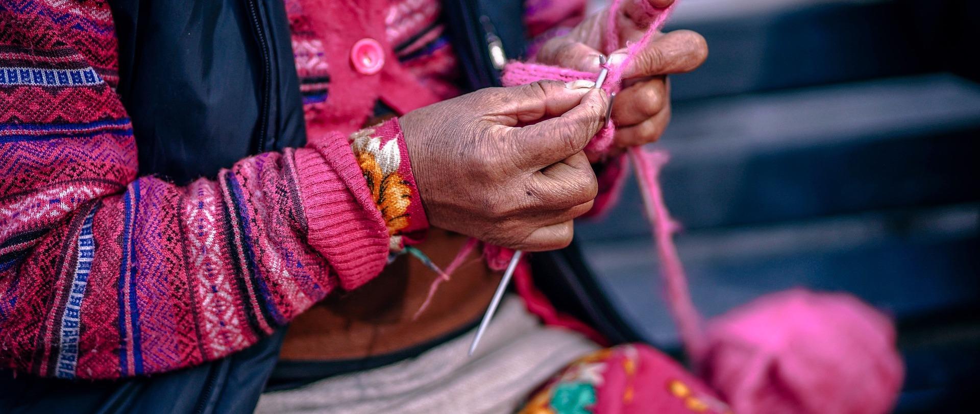 Woman's yarn